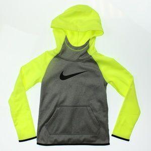 Nike Therma Training Full-Zip Hoodie Heather Volt